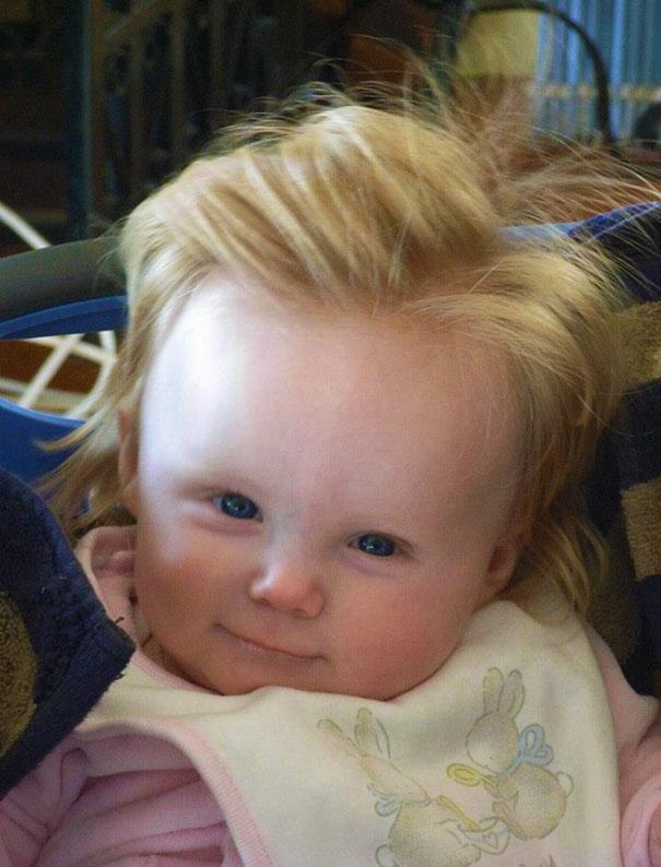 ТОП-10 немовлят із розкішним волоссям  - фото 9