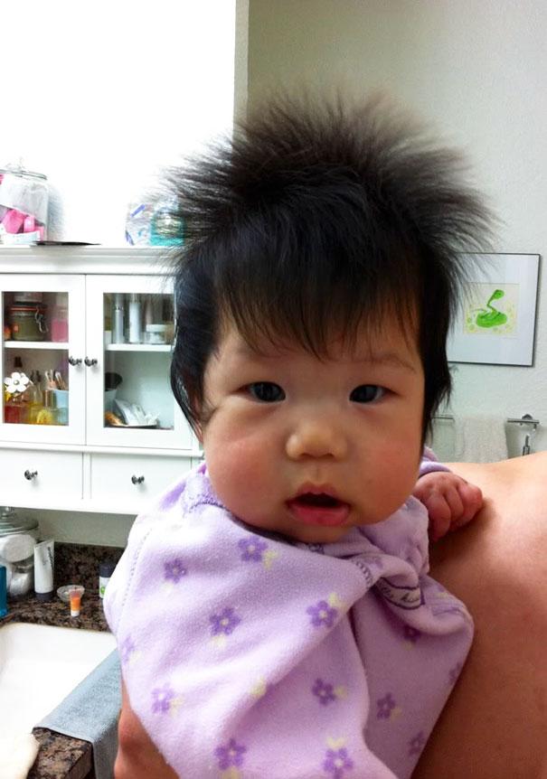ТОП-10 немовлят із розкішним волоссям  - фото 7