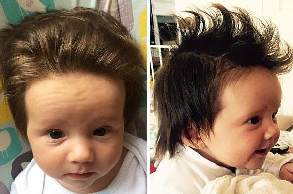 ТОП-10 немовлят із розкішним волоссям  - фото 6