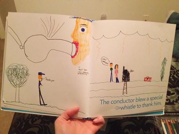 ТОП-10 дитячих кумедних малюнків, на яких щось пішло не так - фото 3