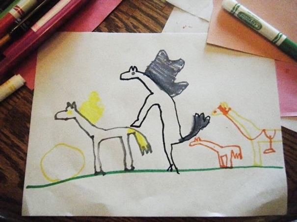 ТОП-10 дитячих кумедних малюнків, на яких щось пішло не так - фото 10