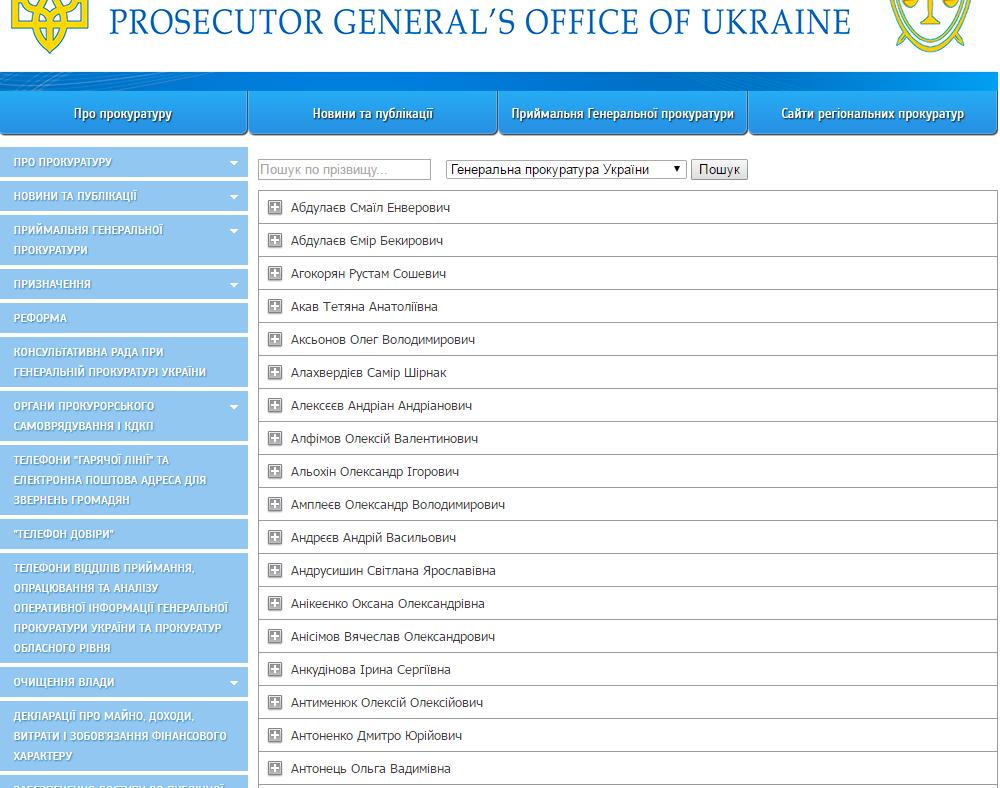 """Луценко показав українцям """"доброчесність"""" прокурорів  - фото 1"""