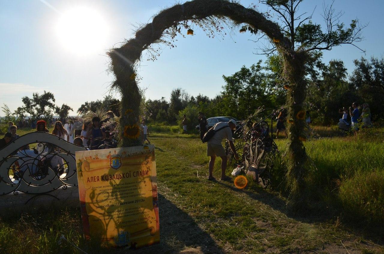 Німфи, лісовики, козацькі бої та вогнище: миколаївці відсвяткували Івана Купала
