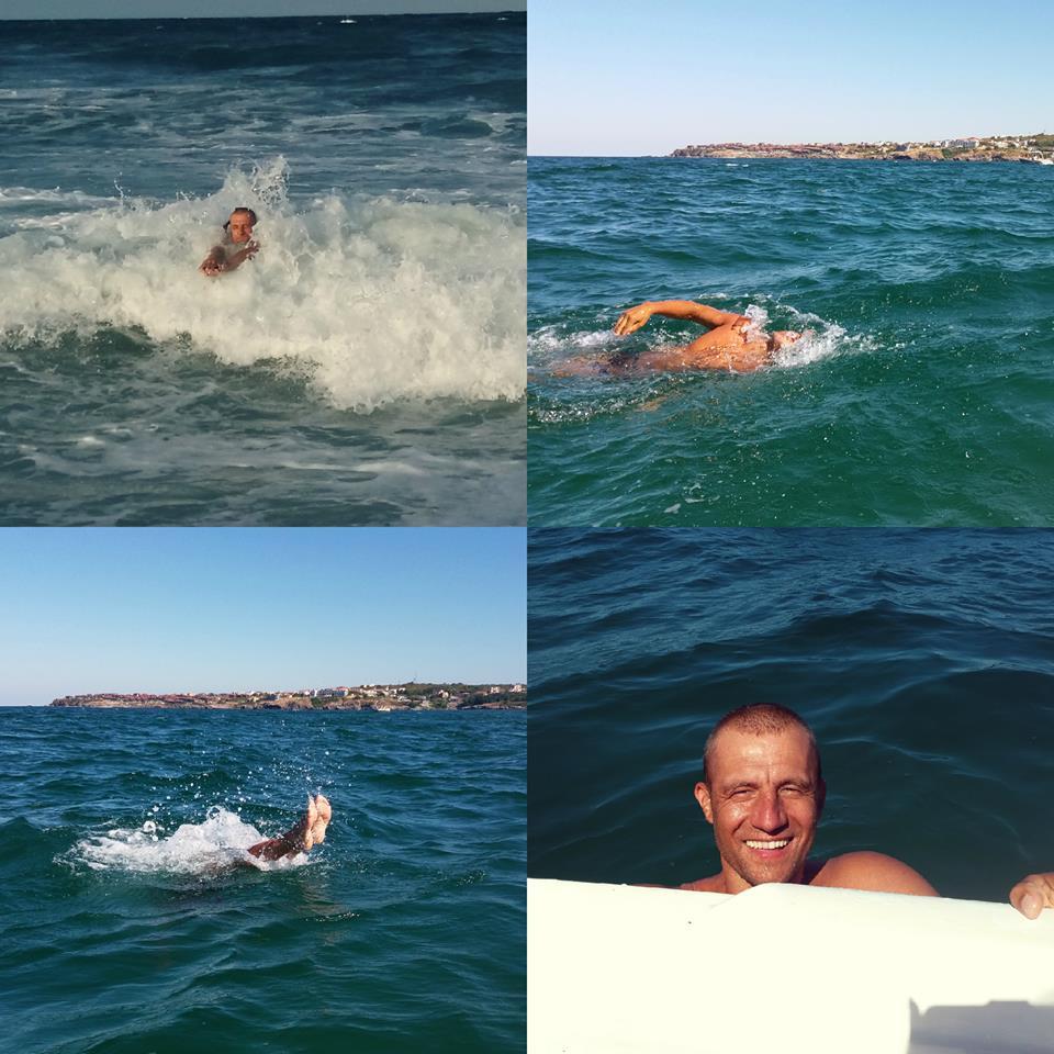 Як козак Гаврилюк хлюпався у чужому морі (ФОТО) - фото 1