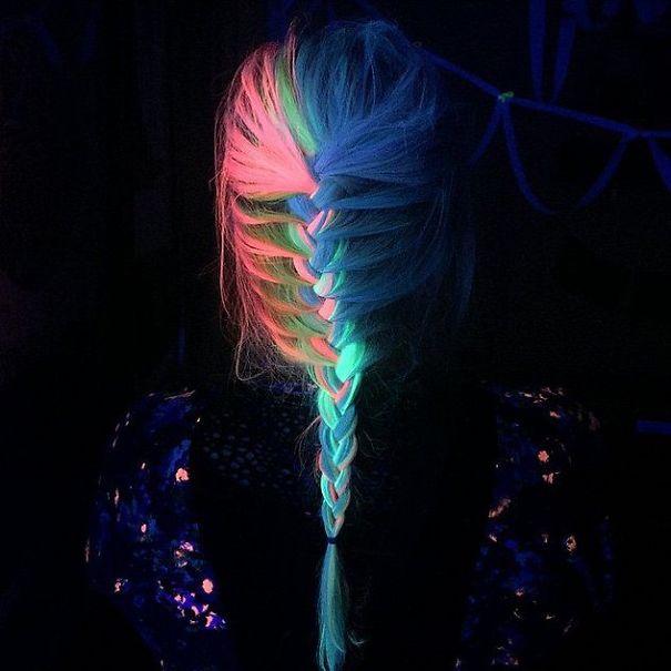 Новий тренд волосся, яке світиться у темряві, підірвав інтернет  - фото 5