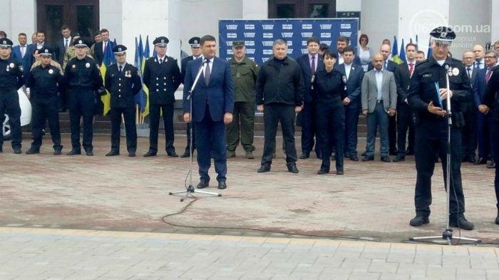 У Маріуполі склали присягу патрульні поліцейські - фото 3
