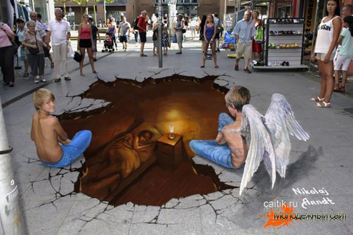40 неймовірних 3D малюнків на асфальті - фото 14