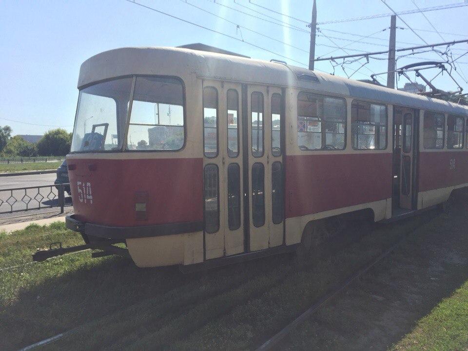 У Харкові вдруге за день злетів із рейок трамвай - фото 1