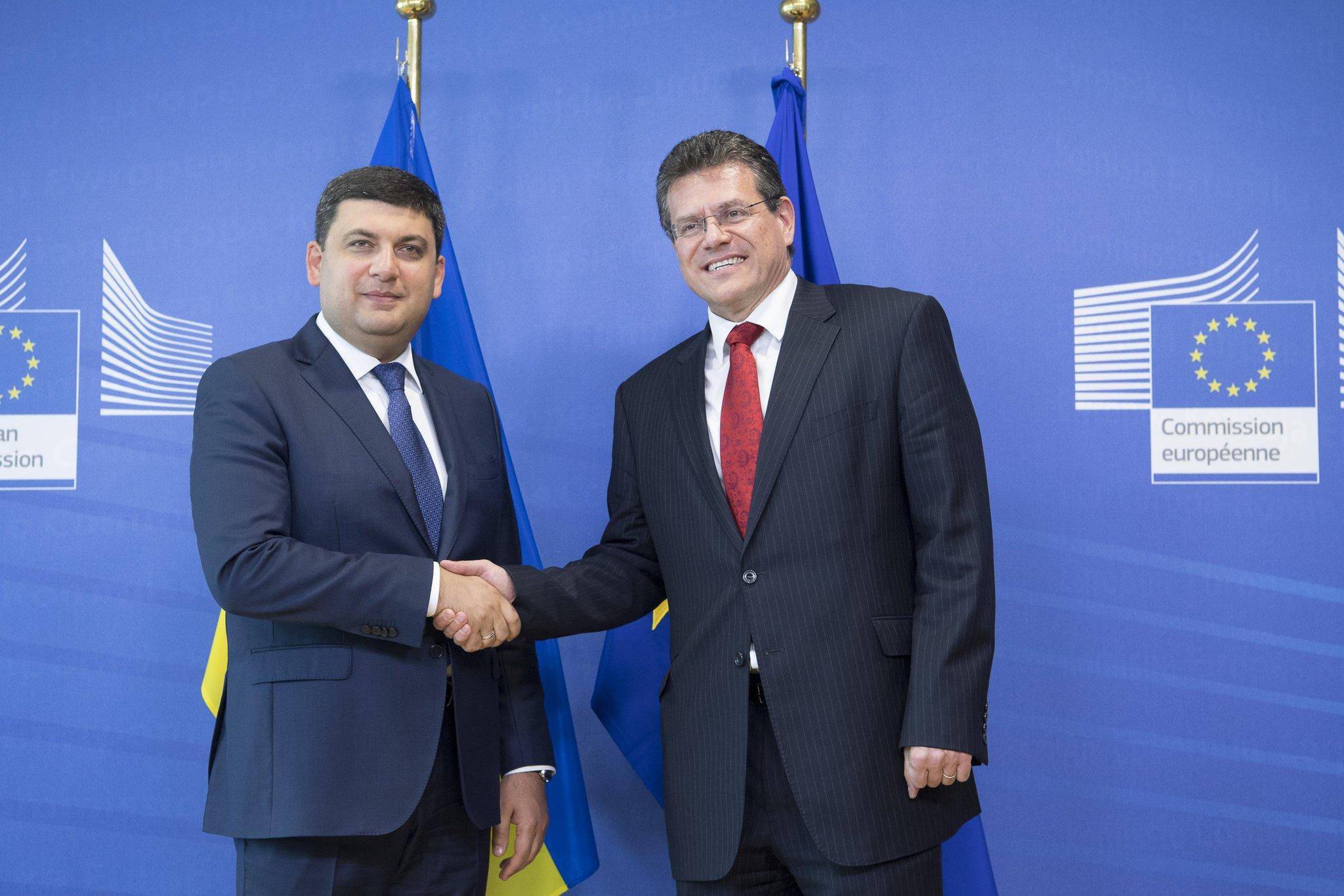 Гройсман у Брюсселі домовився опрацювати можливості транзиту газу - фото 1
