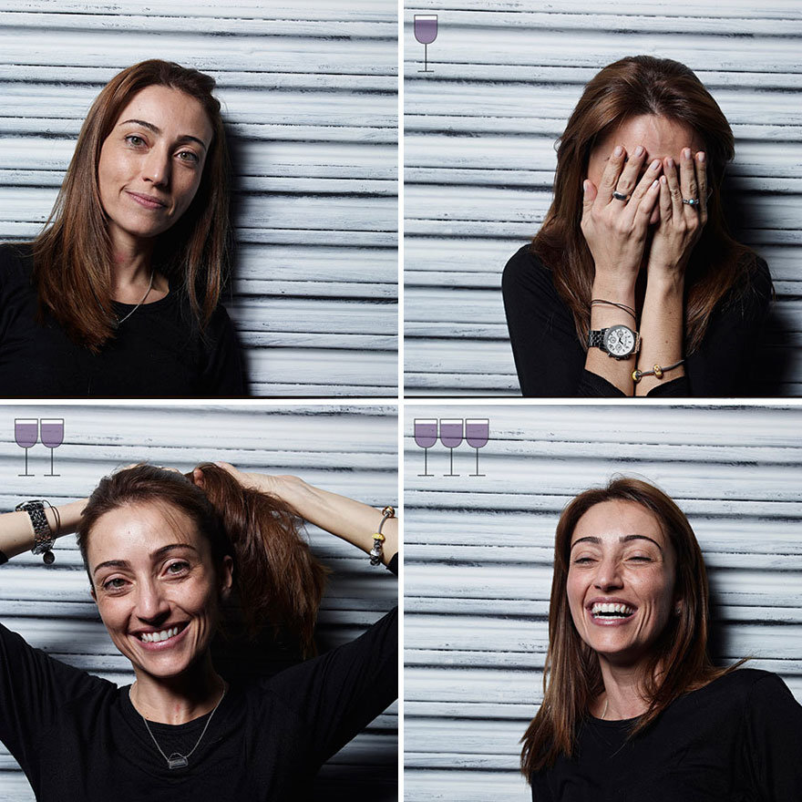 Як виглядають люди після 1, 2 та 3 келихів вина - фото 8