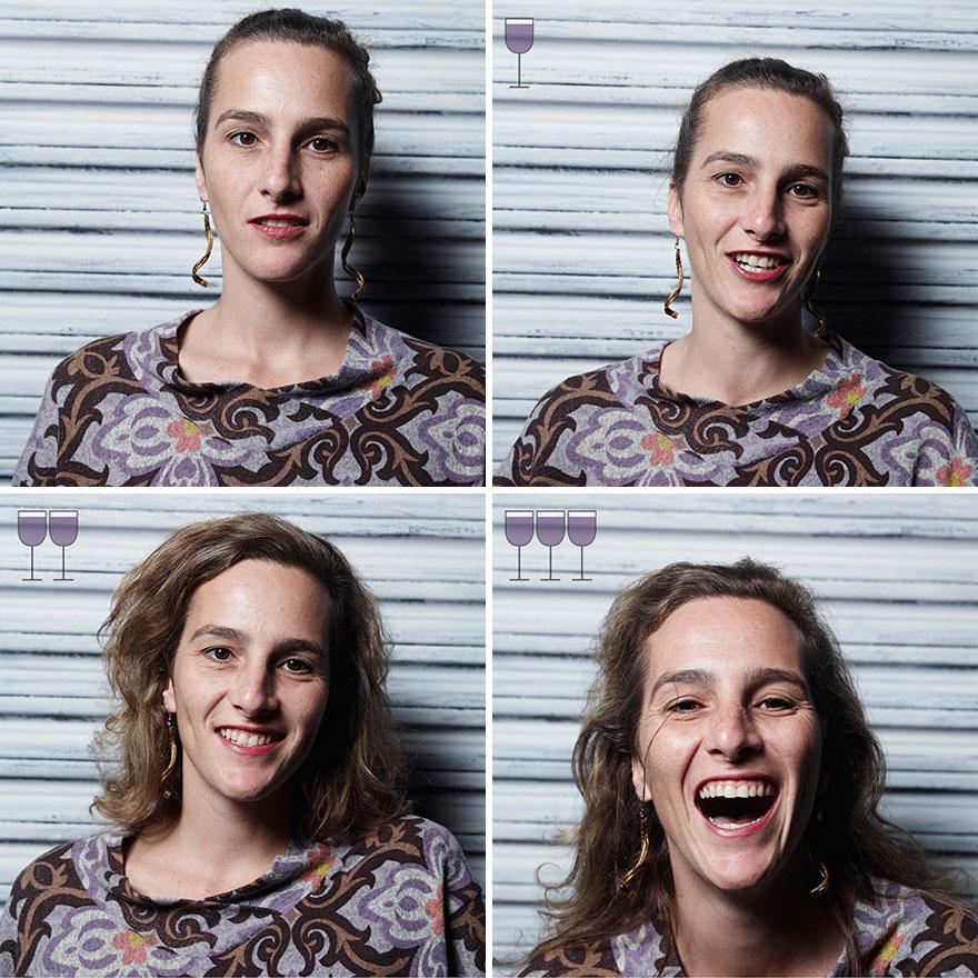 Як виглядають люди після 1, 2 та 3 келихів вина - фото 5