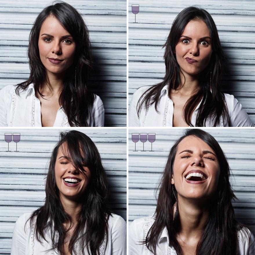 Як виглядають люди після 1, 2 та 3 келихів вина - фото 1