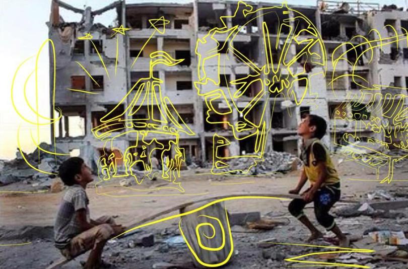 Турецький митець показав, як війна в Сирії вбила дитячі мрії - фото 2