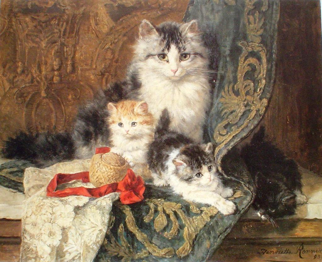 Котофілія у XIX столітті: Як раніше обожнювали котиків - фото 4