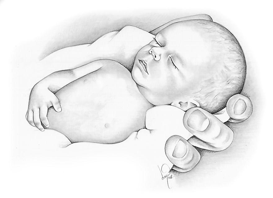 Картинки для срисовки малыши