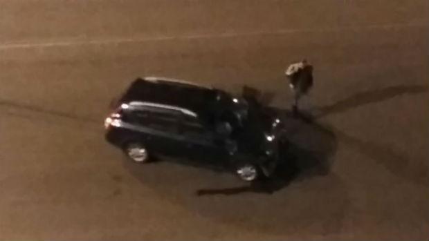 У Харкові позашляховик протаранив мікроавтобус - фото 3