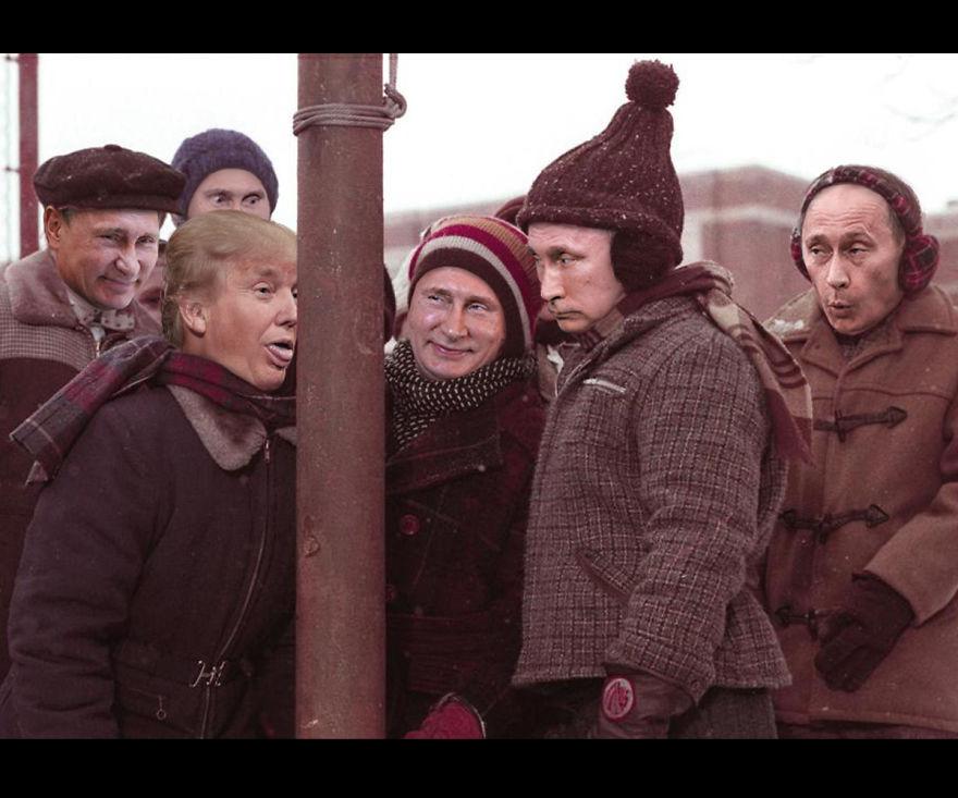 Як Трампа та Путіна потролили різдвяними фільмами  - фото 1