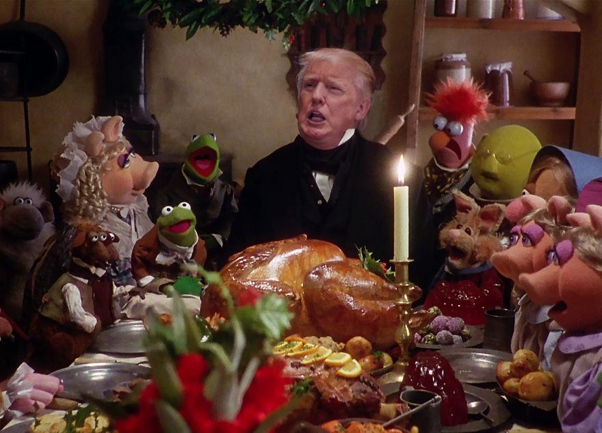 Як Трампа та Путіна потролили різдвяними фільмами  - фото 2