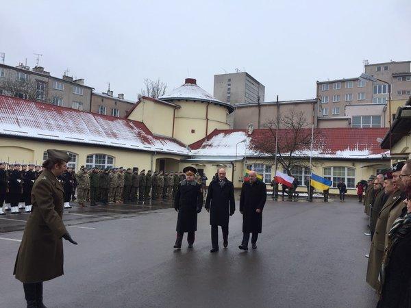 У Польщі дали старт спільному військовому підрозділу з Україною та Литвою - фото 1