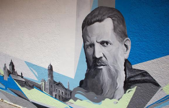 У Львові відкрили величезне графіті, присвячене митрополиту Шептицькому - фото 3