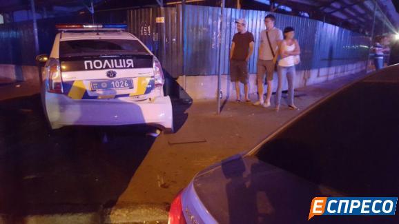 Столичні поліцейські спричини серйозну ДТП - фото 6