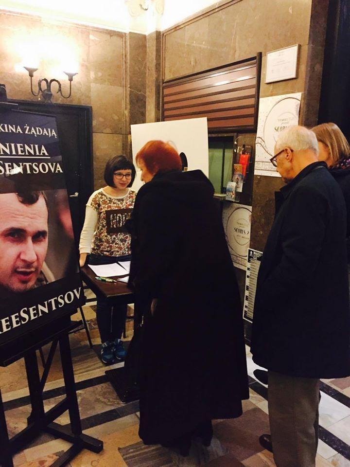 У Польщі під час фестивалю збирали підписи за звільнення Сенцова - фото 1