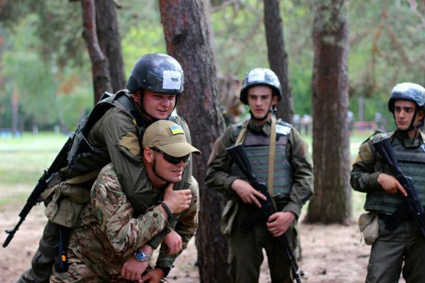 У Харкові нацгвардійцям проводять навчання за стандартами НАТО - фото 1