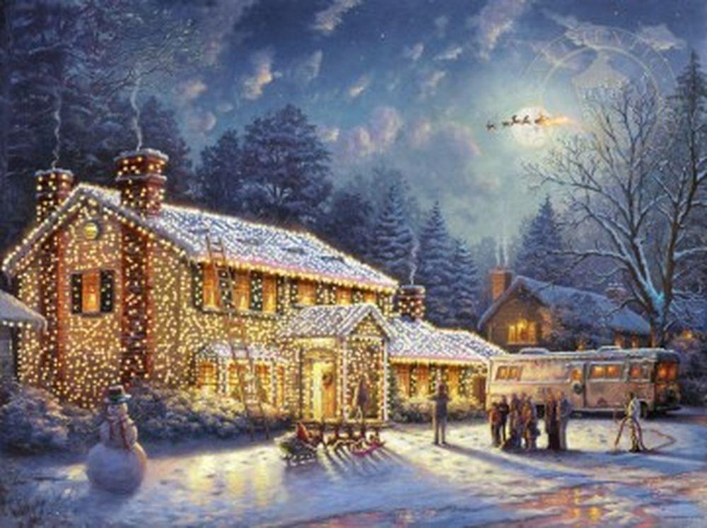 Дивовижні різдвяні картини, які створять святковий настрій  - фото 8