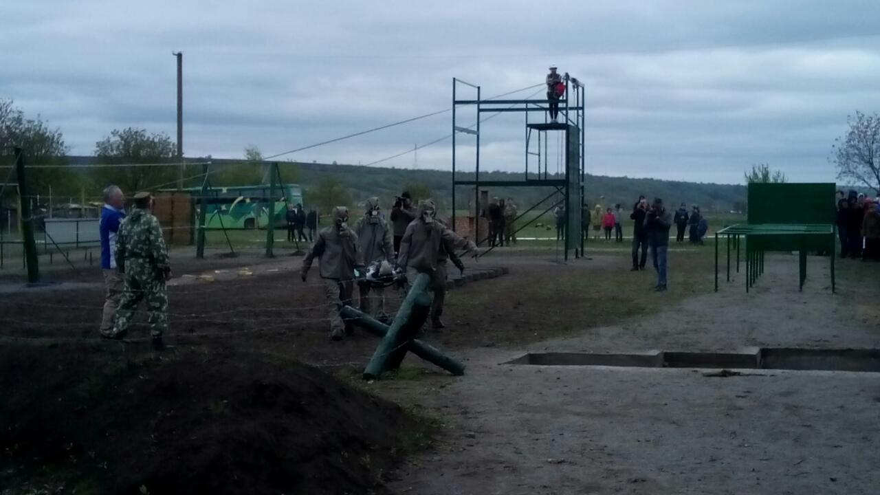 На кордоні з Молдовою відкрили військово-спортивний комплекс - фото 2