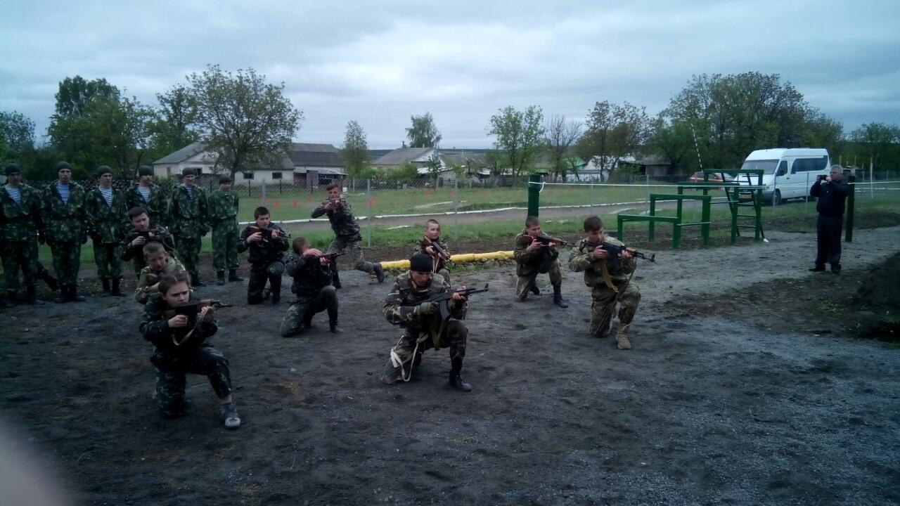 На кордоні з Молдовою відкрили військово-спортивний комплекс - фото 1