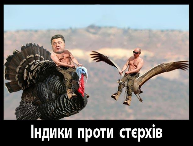 Порошенко-Путін. Президенти різні - піарники однакові (ФОТОЖАБИ) - фото 6