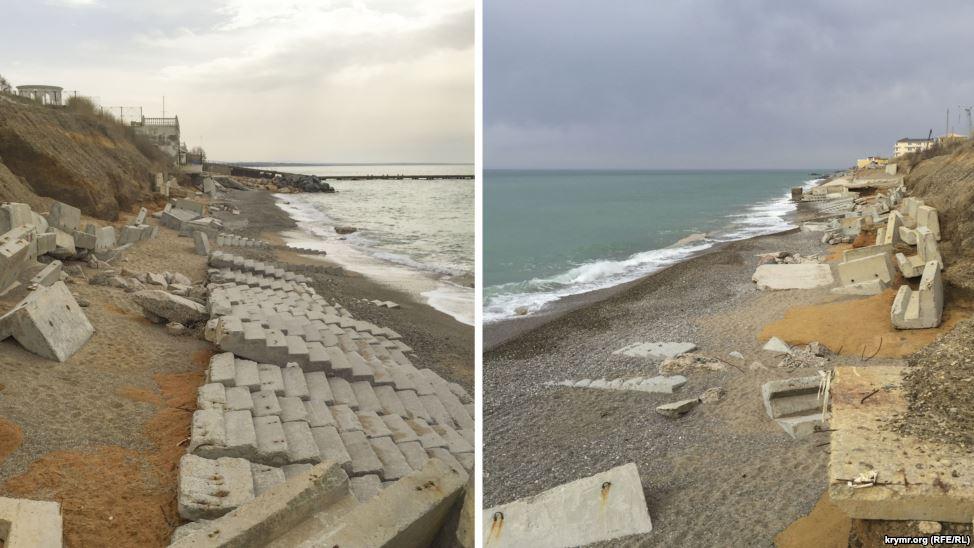 Розбиті сходи, брудні пляжі: у Криму показали готовність до курортного сезону (ФОТО) - фото 1