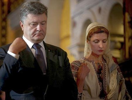 Два роки першої леді України Марини Порошенко - фото 7