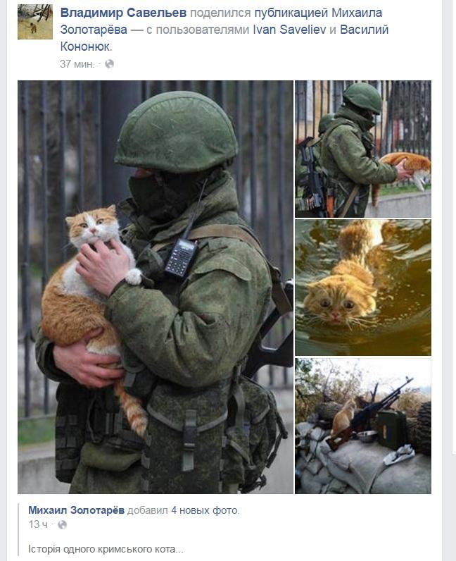 Як склалося життя кота з пам'ятника зеленому чоловічку-зоофілу - фото 1