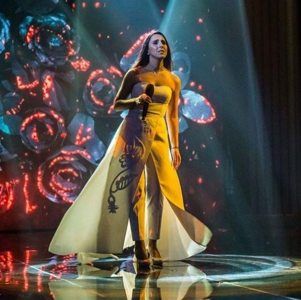 """Леді Гага на Оскарі """"сплагіатила"""" сукню Джамали - фото 1"""