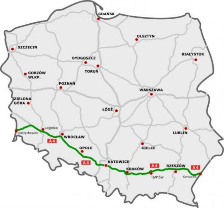 Польща повністю відкрила нову трасу між Україною та Німеччиною (КАРТА) - фото 1