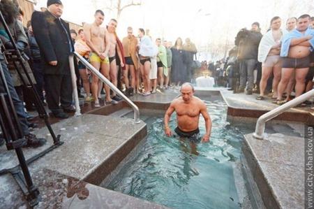 Як політики мочили голе тіло в ополонці - фото 9