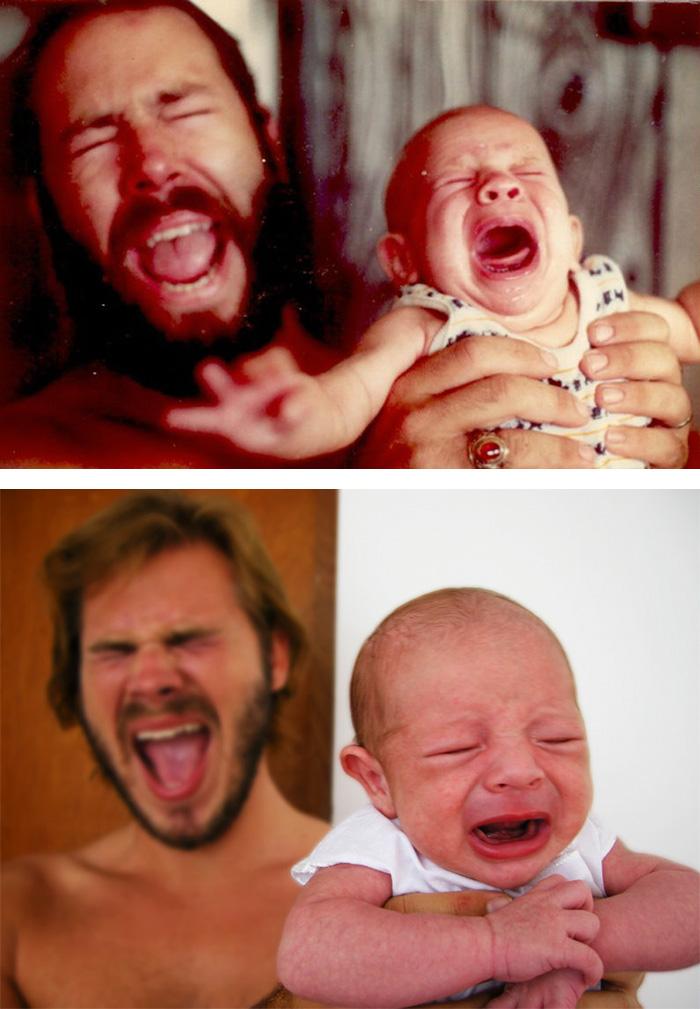 Як діти неймовірно схожі на своїх батьків  - фото 4