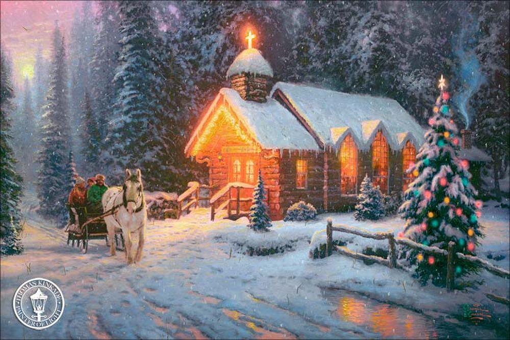 Дивовижні різдвяні картини, які створять святковий настрій  - фото 6