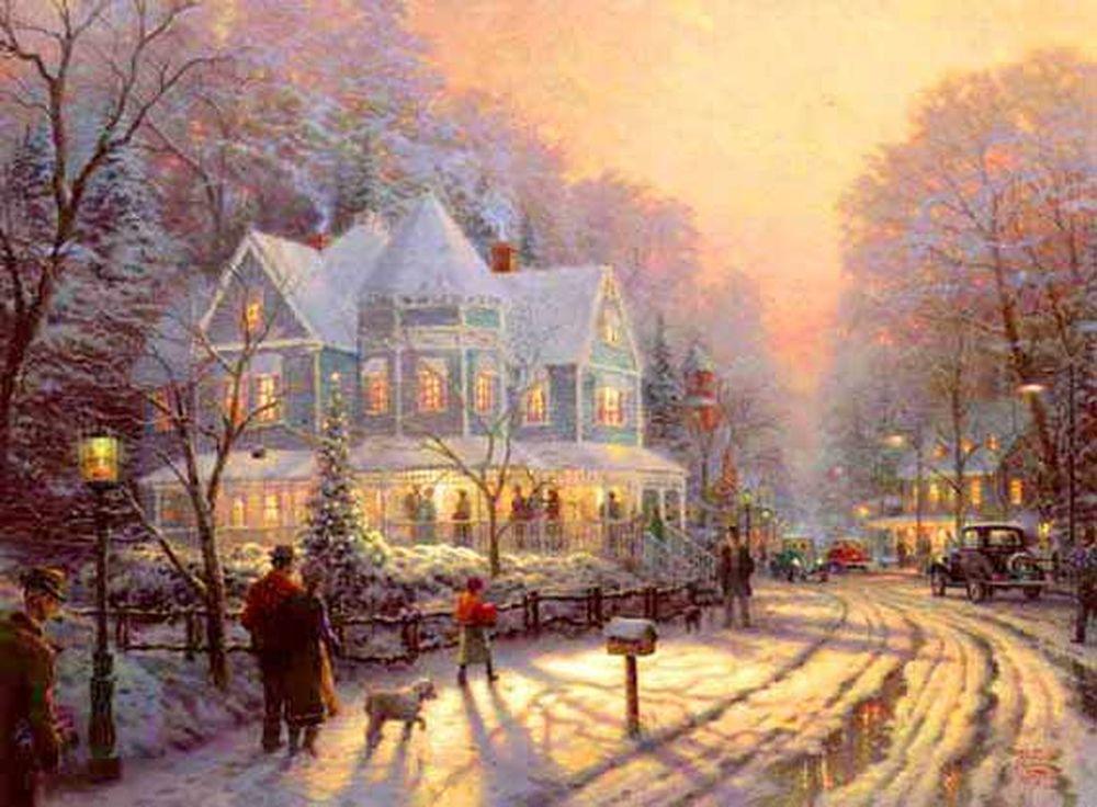 Дивовижні різдвяні картини, які створять святковий настрій  - фото 7