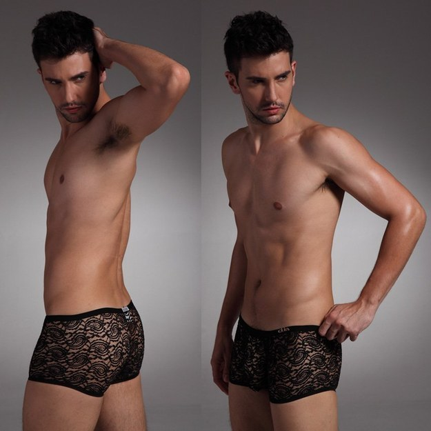 Чоловіки у мереживній білизні: новий тренд підірвав інтернет  - фото 2