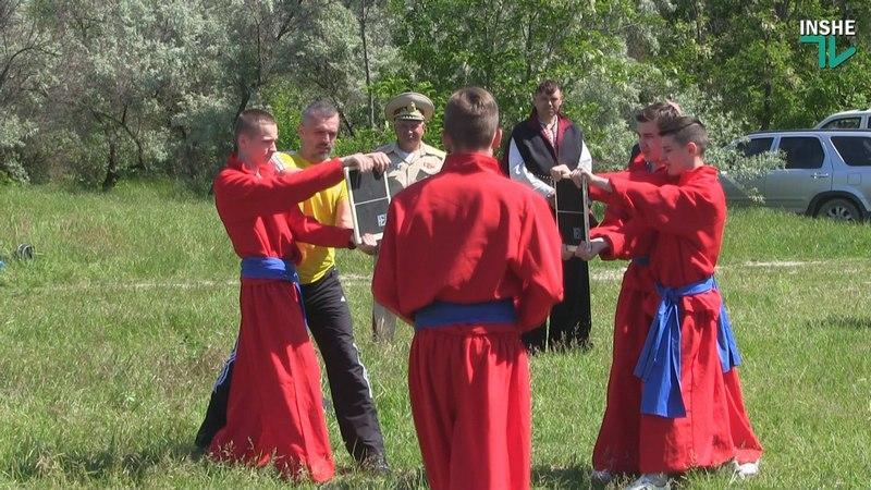 Штовхач та сабельні бої: миколаївські козаки провели чемпіонат з військово-патріотичних ігор