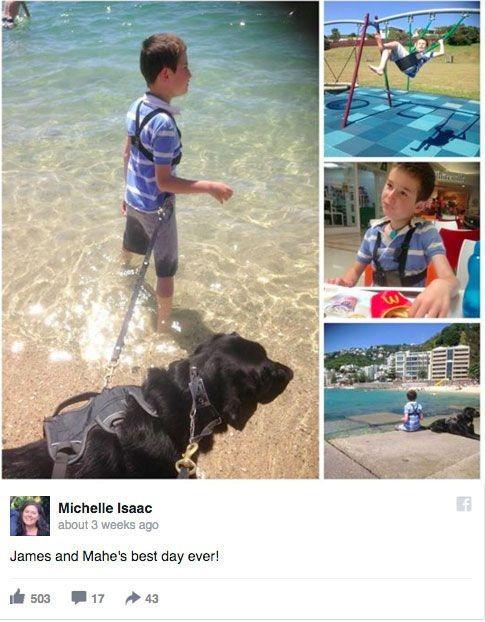 Як хлопчик, який ні з ким не говорить, лежав у лікарні з собакою  - фото 1