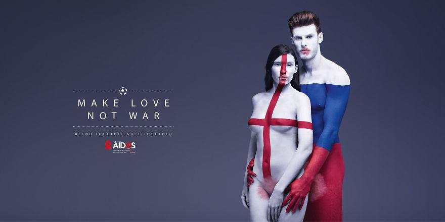 Як кольорові голі люди пестилися проти СНІДу - фото 4