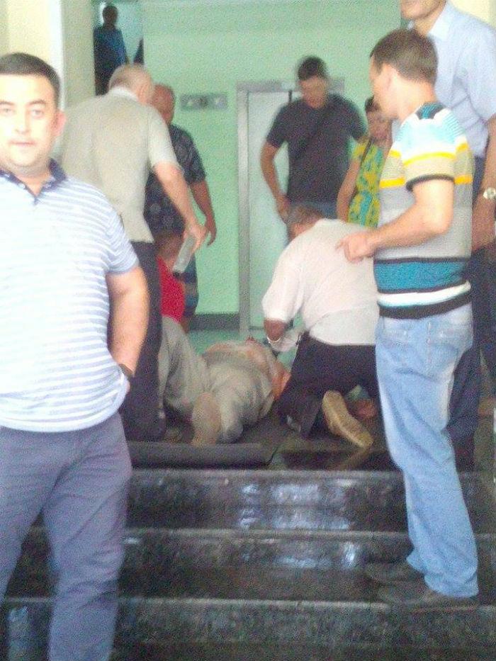 Голодуючий в Міненерго шахтар намагався спалити себе,  - Волинець - фото 2