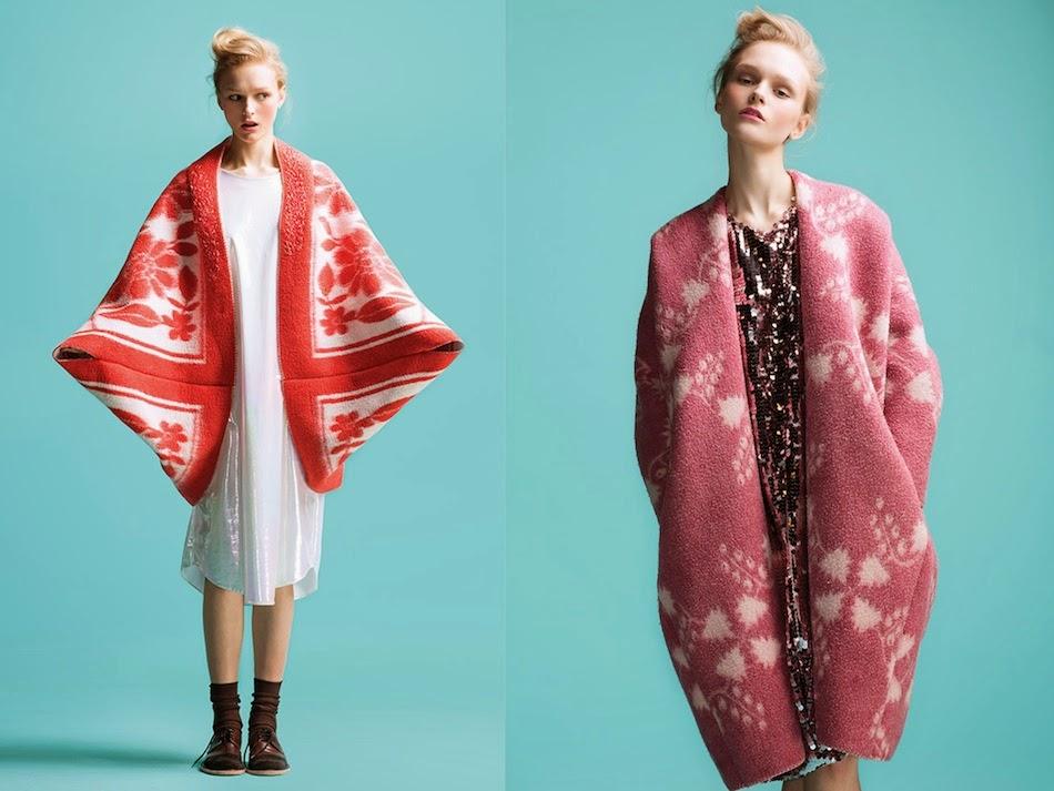 Нова мода - пальто з радянських ковдр - фото 1