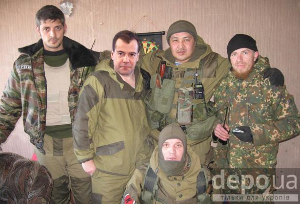 Медведєв - ополченець Донбасу (ФОТОЖАБИ) - фото 4