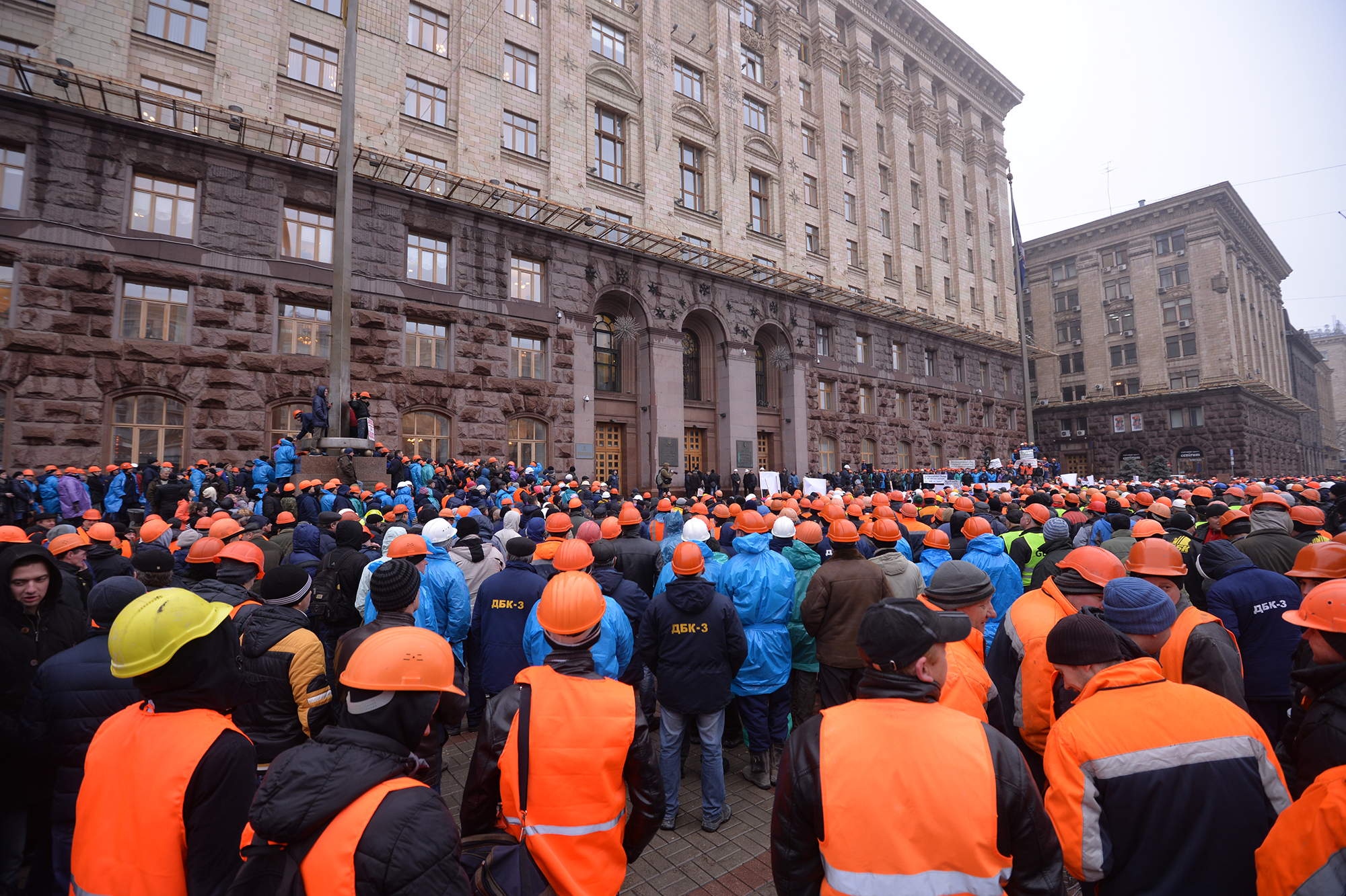 5 тисяч будівельників пікетували КГГА – домовилися про стіл переговорів - фото 2