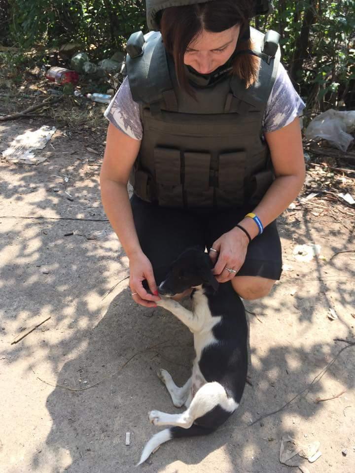 Чим займаються на Донбасі найкращі друзі бійців АТО - 6 - фото 13