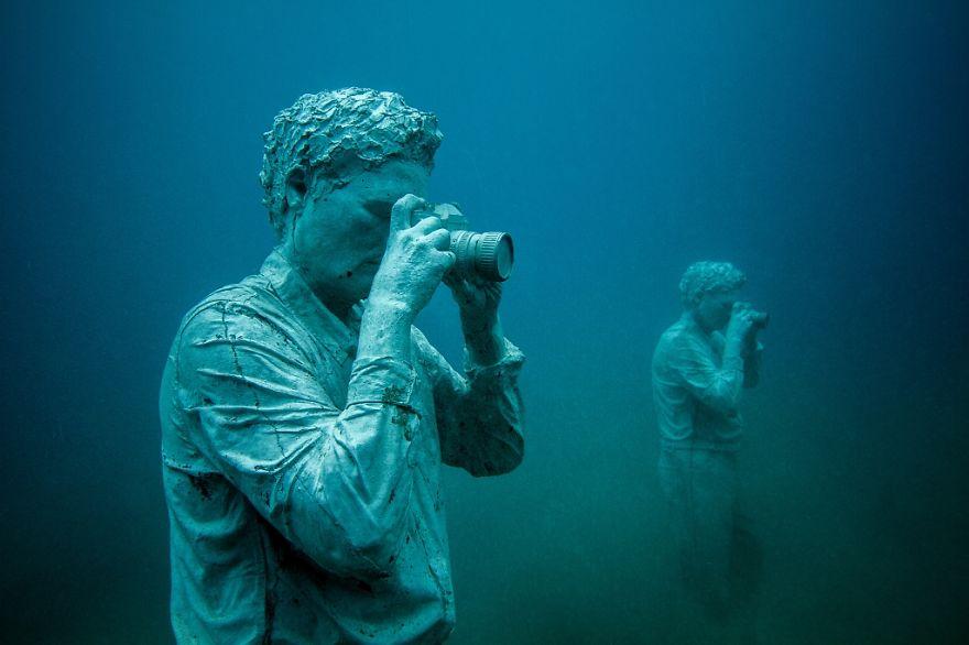 Як виглядає підводний музей в Атлантичному океані  - фото 2